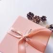 Les Georgettes metalnarancs / rózsaszín bőr - LEDAT