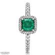Pandora zöld időtlen elegancia gyűrű - 190947GCZ