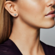Pandora szív alakú legyező fülbevaló - 297298CZ