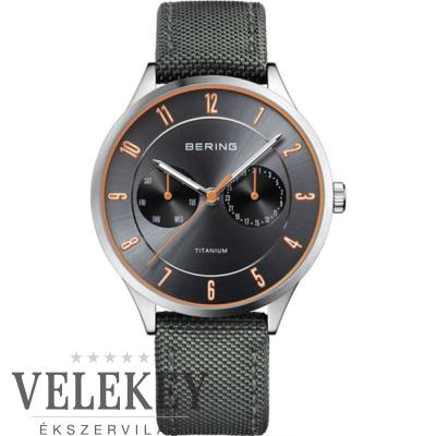 Bering férfi óra - 11539-879 - Titanium