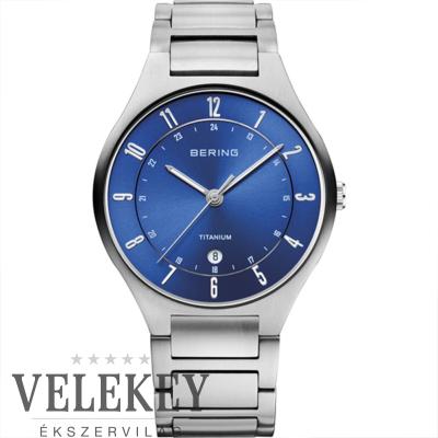 Bering férfi óra - 11739-707 - Titanium