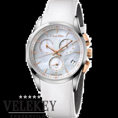Calvin Klein női óra - K5A37BLG - New Bold Chronograph
