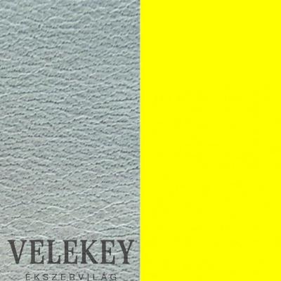 Les Georgettes szürkéskék / sárga bőr - LEDAY