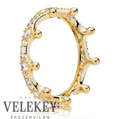 Pandora korona gyűrű - 167119CZ