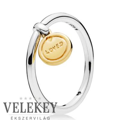 Pandora a szeretet medálja gyűrű - 167823