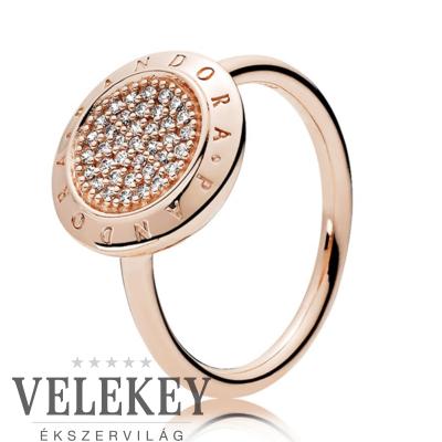 Pandora ikonikus gyűrű - 180912CZ