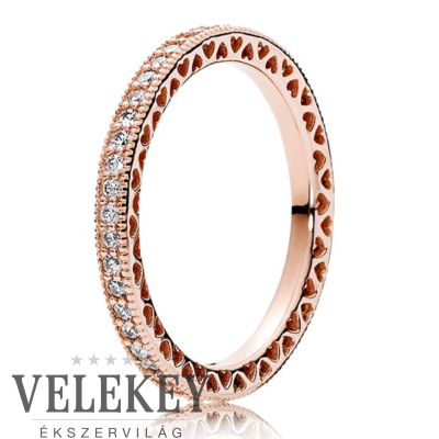 Pandora szívei gyűrű - 180963CZ