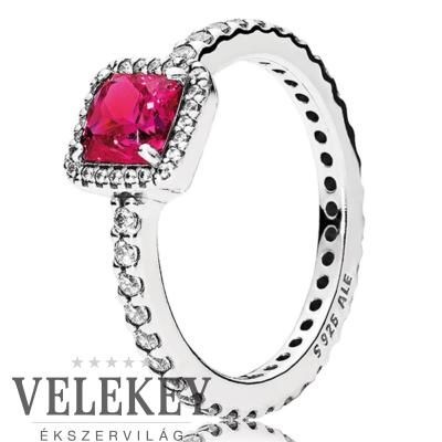 Pandora vörös időtlen elegancia gyűrű - 190947SRU