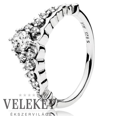 Pandora mesebeli tiara gyűrű - 196226CZ