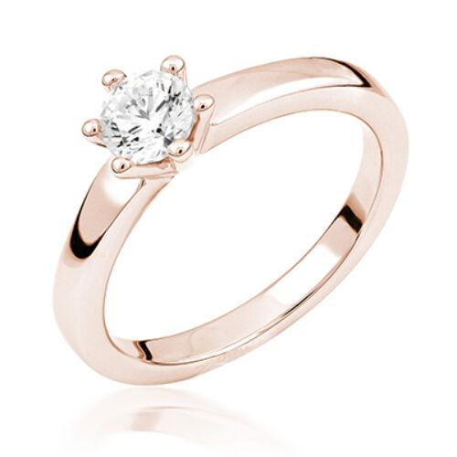 Rozé arany eljegyzési gyűrű - M123R