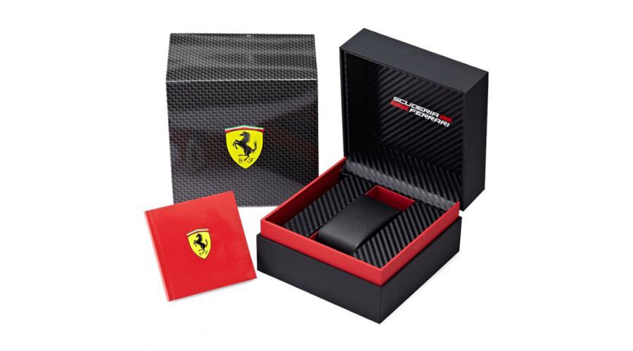Scuderia Ferrari férfi óra - 0830574 - Forza - Japán órák f75b8e164c