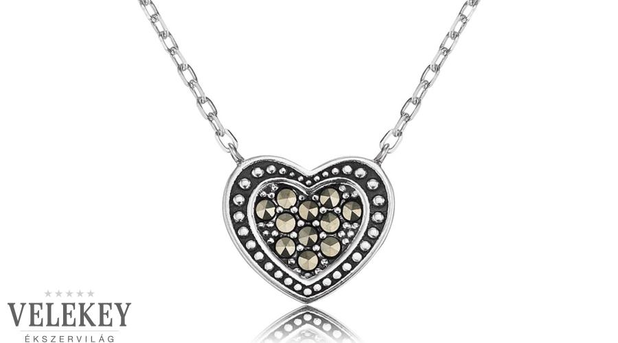49c6d794a Engelsrufer ezüst szíves nyaklánc - ERN-HEART-MA
